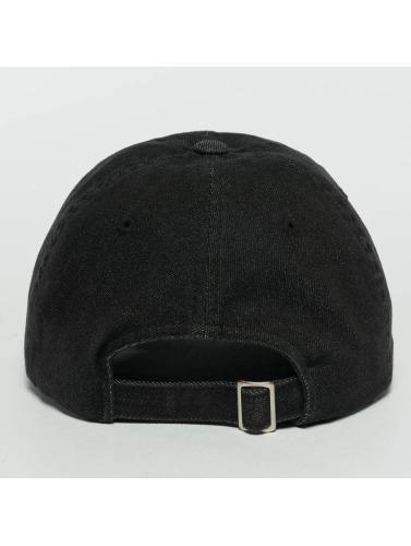 Flexfit Snapback Cap Low Profile Denim in schwarz