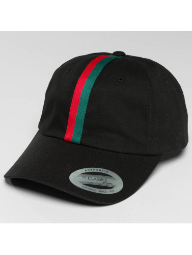 Flexfit Snapback Cap Stripe Dad in schwarz