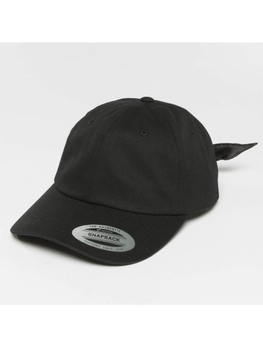 Flexfit Snapback Cap Satin Bow Dad in schwarz