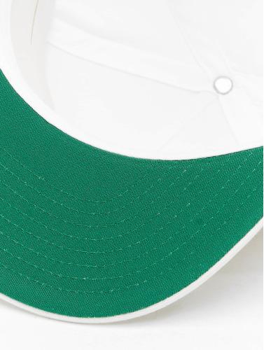 Flexfit Snapback Cap Classic 5 Panel in weiß