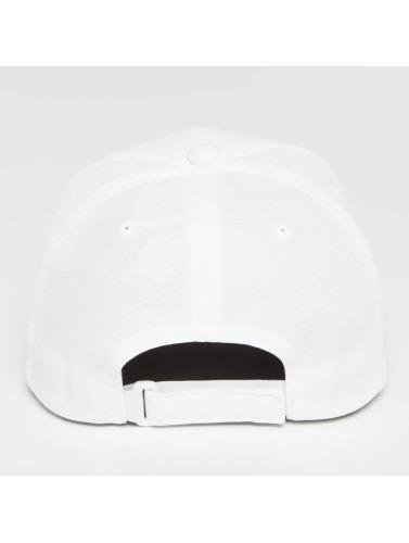 Flexfit Snapback Cap 110 Cool & Dry Mini Pique in weiß
