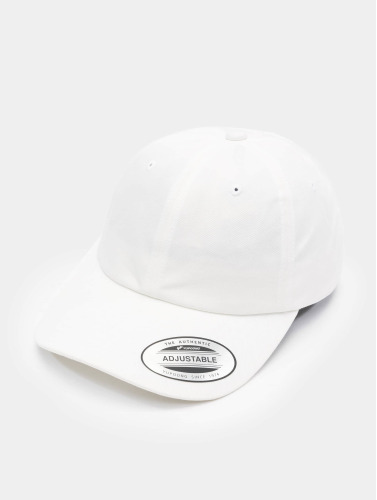 Flexfit Snapback Cap Low Profile Cotton Twill in weiß
