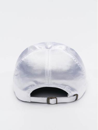 Flexfit Snapback Cap Low Pofile Satin in weiß