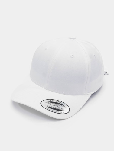Flexfit Snapback Cap Curved Bandana Tie in weiß