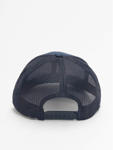 Flexfit Trucker Cap Retro in blau