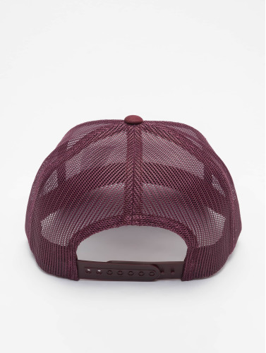 Flexfit Trucker Cap Retro Colored Front in rot
