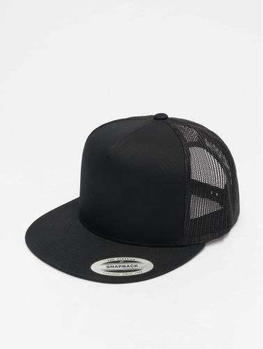 Flexfit Trucker Cap Classic in schwarz