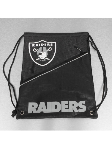 Forever Collectibles Beutel NFL Diagonal Zip Drawstring Oakland Raiders in schwarz