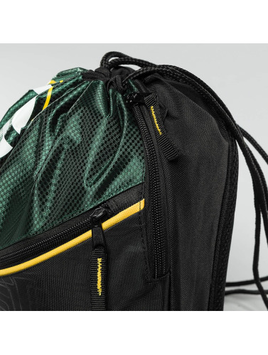 Forever Collectibles Beutel NFL Diagonal Zip Drawstring Green Bay Packers in schwarz