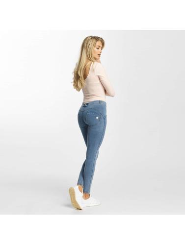 Freddy Damen Skinny Jeans Regular Waist in blau