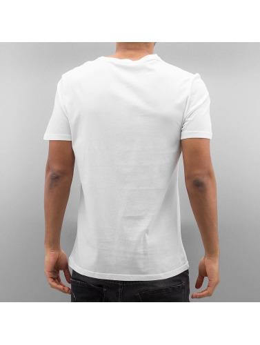Fransk Spark Hombres Camiseta Raidere I Blanco billige samlinger billig salg rimelig billig beste stedet gratis frakt utsikt topp rangert SsLnod6