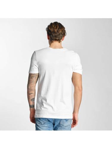 French Kick Hombres Camiseta Riri in blanco