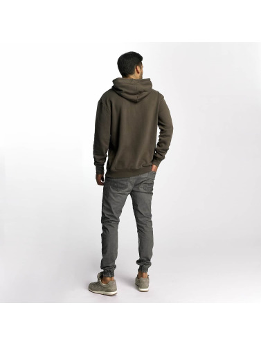 French Kick Herren Hoody Forest in khaki