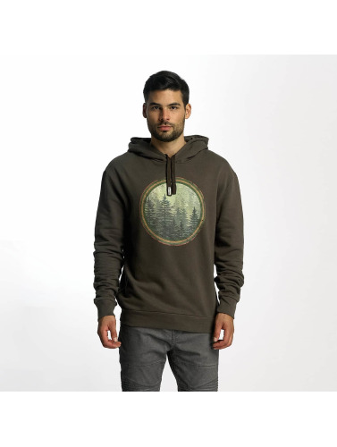 French Kick Hombres Sudadera Forest in caqui