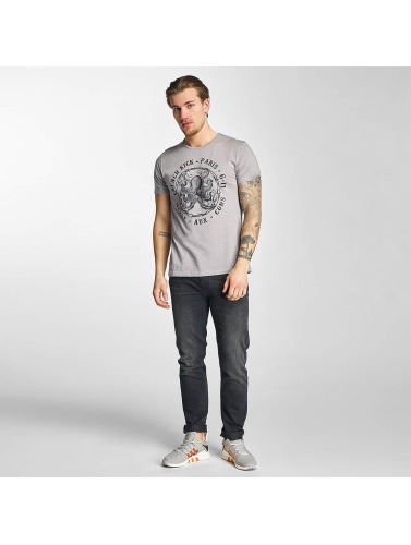 French Kick Herren T-Shirt Iconoclaste in grau