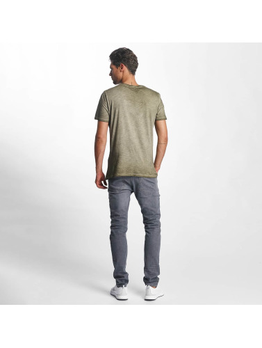 French Kick Herren T-Shirt Bavu in khaki