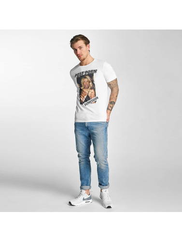 French Kick Herren T-Shirt Chucky in weiß