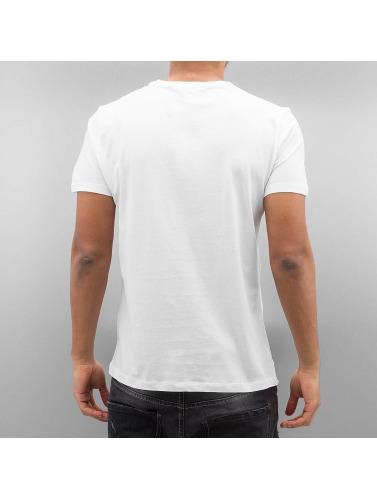 French Kick Herren T-Shirt Nipple Star in weiß