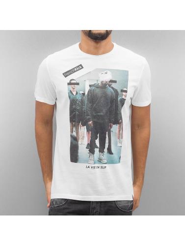 French Kick Herren T-Shirt Slip Star in weiß