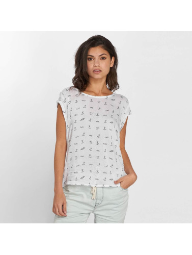 Fresh Made Mujeres Blusa / Túnica Anker in blanco