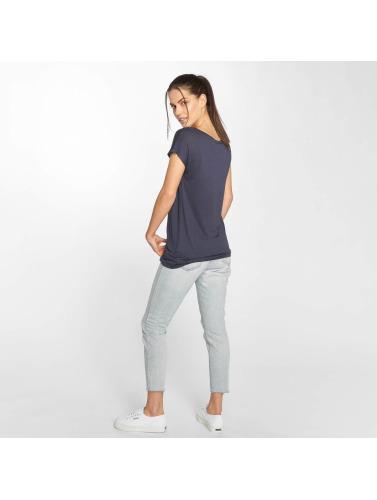 Fresh Made Mujeres Camiseta Heart in azul