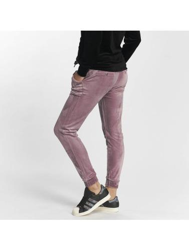 Fresh Made Mujeres Pantalón deportivo Nicki in púrpura