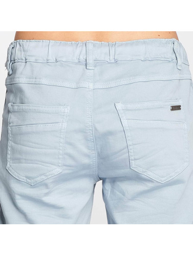 Fresh Made Damen Shorts Bermuda in blau
