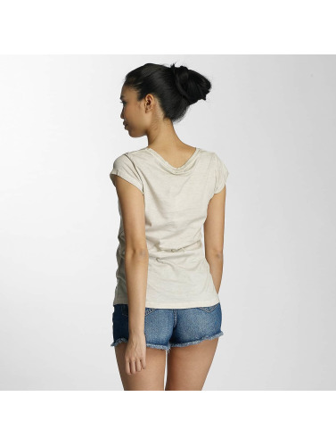 Fresh Made Damen T-Shirt Muffin in beige