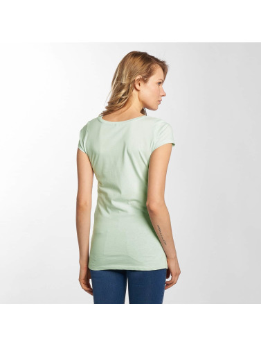 Fresh Made Damen T-Shirt Basic in grau