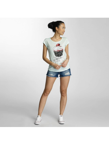 Fresh Made Damen T-Shirt Muffin in grün