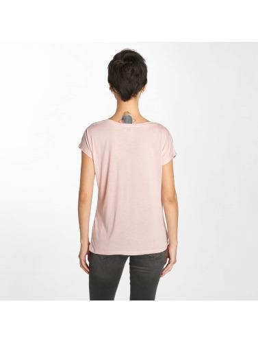 Fresh Made Damen T-Shirt Rose in rosa