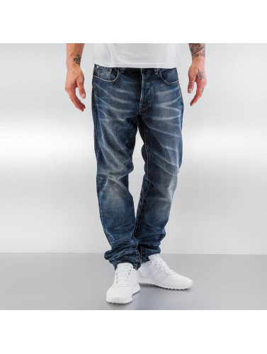 G-Star Hombres Antifit 3301 Tapered in azul