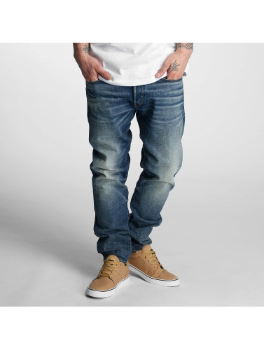 G-Star Hombres Antifit 3301 Tapered Herf Denim in azul