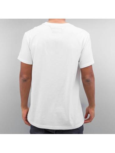 G-Star Hombres Camiseta Ratiz Pocket Compact in blanco