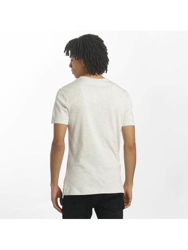 G-Star Hombres Camiseta Drillon Cool Rib in blanco
