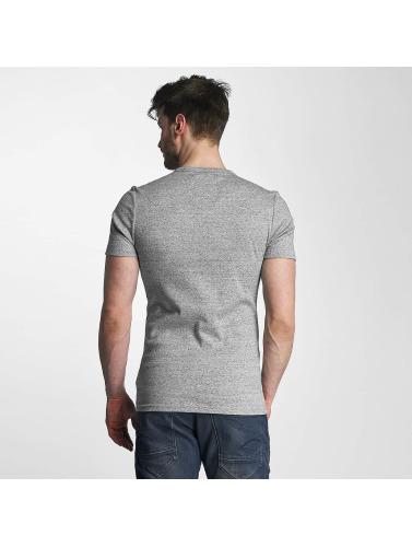G-Star Hombres Camiseta Unstand Premium Cool Rib in gris