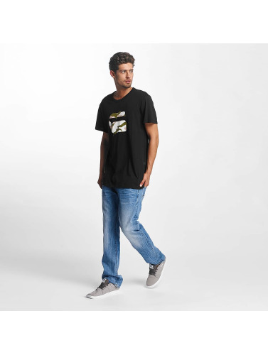G-Star Hombres Camiseta Ustri Compact Jersey in negro