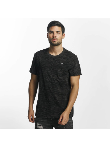 G-Star Hombres Camiseta Classic Hoc Compact Jersey in negro