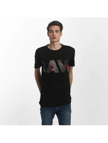 G-Star Hombres Camiseta Zeabel in negro