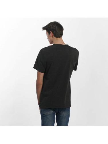 G-Star Hombres Camiseta Cadulor NY Jersey in negro