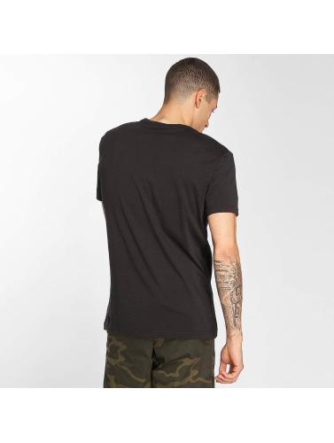 G-Star Hombres Camiseta Belfurr GR in negro