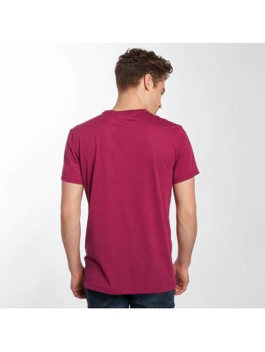 G-Star Hombres Camiseta Loaq NY Jersey in púrpura