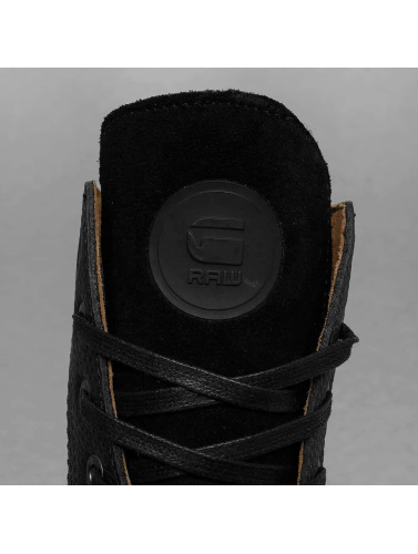 G-Star Footwear Hombres Boots Labour Leather in negro