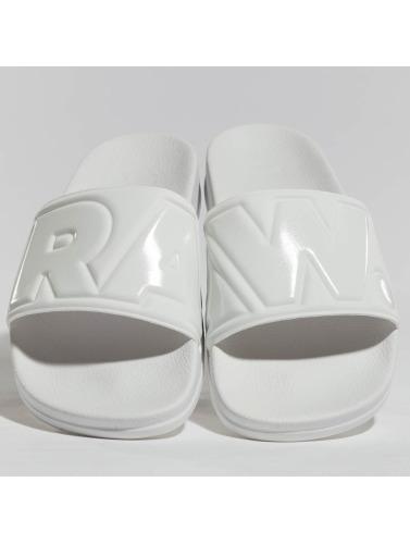 G-Star Footwear Hombres Chanclas / Sandalias Footwear Cart II in blanco