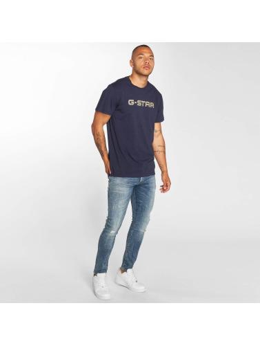 G-Star Hombres Jeans ajustado 3301 in azul