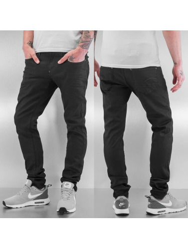 G-Star Hombres Jeans ajustado Revend in negro