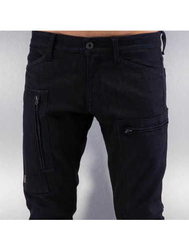 G-Star Hombres Jeans ajustado Powel Super Slim Visor in negro