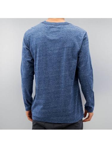 G-Star Herren Longsleeve Riban Pocket Premium Compact Jersey in blau