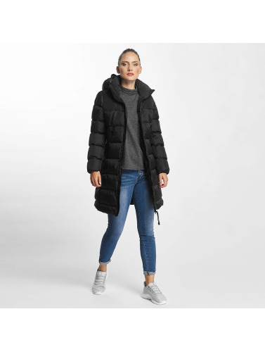 G-Star Damen Mantel Whistler Myrow Pes Dye Hooded Slim in schwarz