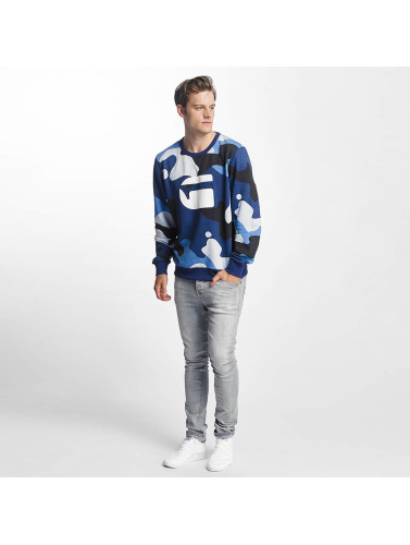 G-Star Herren Pullover Hifton Sherland Ub Overs Wood Camo AO in camouflage